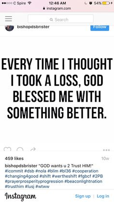 Thank you God!!!