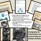 $6.20 This is a full 90 minute lesson with powerpoint notes, student handouts, and an image analysis activity.  Students are introduced to the age of urb...
