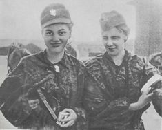 Women of the Polish resistance: Warsaw Uprising 1944