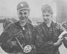 Women of the Polish resistance: Warsaw Uprising 1944