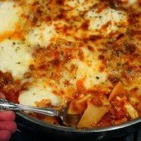 No-Fuss Skillet Lasagna