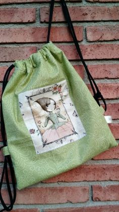 DIY mochila Mirabelle. Hecho a mano. Patchwork.