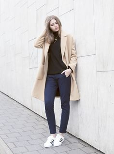 Msgm Camel Coat
