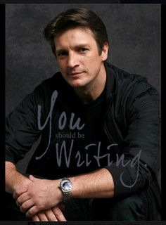 Awesome! I'll take writing advice from Richard Castle any time. And Nathan Fillion just makes me happy. :)
