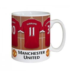 Manchester United Dressing Room Mug | Mugs | Exclusively Personal