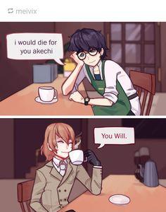 Persona 5 Memes, Persona 5 Joker, Atlus Games, Goro Akechi, Best Rpg, Akira Kurusu, Video Game Anime, Story Characters, Cute Images