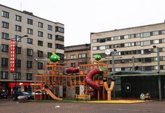 Angry Birds park in Pori Finland Western Coast, Angry Birds, Amazing Places, Cool Places To Visit, Lakes, The Good Place, Europe, Adventure, Park