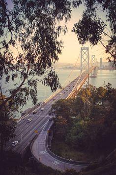 San Francisco❤                                 Bay Bridge