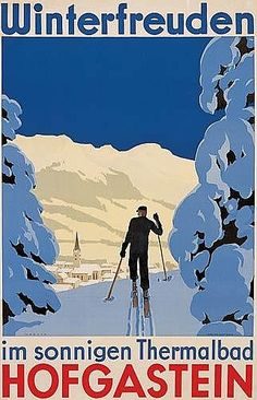 Skiing (Vintage Art) Photos, Prints, Paintings & Wall Art for Sale Vintage Ski Posters, Cool Posters, Sports Posters, Art Posters, Giclee Print, Art Print, Bad, Vintage Art, Photo Art