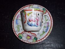 Tasse en porcelaine de Bayeux