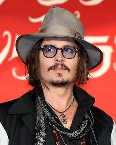 Johnny Depp! Cool wie immer!