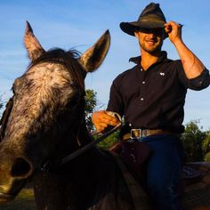 And that's the weekend finished @australian_cowboy #ringerswestern #thekimberleyaustralia http://ift.tt/1VSP58U