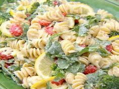 Lemon Fusilli with Arugula Amy's lemon chicken replace Arugula with spinach and add chicken