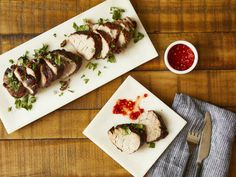 Sweet & Spicy Grilled Pork Tenderloin