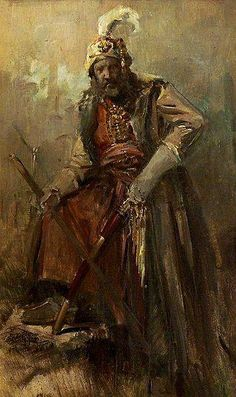 Nikolaos Gyzis Oriental warrior - Handmade Oil Painting Reproduction on Canvas Renoir, Matisse, Sarotti Mohr, Jean Leon, Canvas Online, Greek Art, Art Database, Oil Painting Reproductions, Moorish