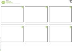 Video Storyboard Template Production Storyboard Template
