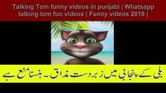 Talking Tom funny videos in punjabi Whatsapp talking tom fun videos  Fun...