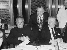 With Li Xiannian, once China's President, Beyti sporting here some masonic paraphernalia