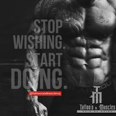1000 images about workout on pinterest bodybuilding - Stop wishing start doing hd wallpaper ...