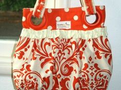 Gathered bag tutorial