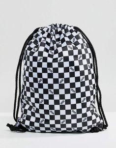82d9e936593e5 Vans Checkerboard Drawstring Bag  adidasdrawstringbag Vans Bags