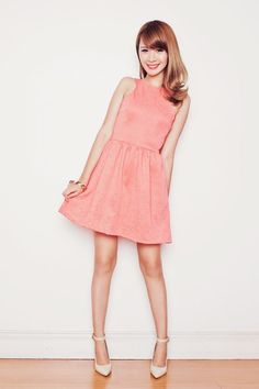 Shop this look on Kaleidoscope (dress, pumps)  http://kalei.do/Wzd1tvKxtpsX9xH0