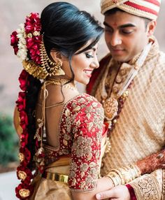 Fulfill a Wedding Tradition with Estate Bridal Jewelry South Indian Bride Saree, South Indian Bride Hairstyle, Indian Bridal Hairstyles, South Indian Weddings, Bride Hairstyles, Kerala Bride, Bride Indian, Hairdos, Bridal Braids