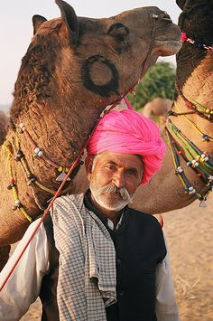 **Camel owner, Puskar Camel Fair, Rajasthan, India