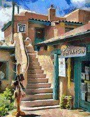 New Mexico Art - Open for Business  by Jeff Kolker