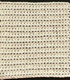 Five Textured Dishcloths Dishcloth # 2