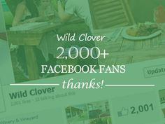 We have reached 2000 likes! A big THANK YOU goes out to each and everyone of you for your support!
