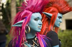 Geeking out for a second here -- Cosplay of Trolls from World of Warcraft -- this makes me want to be a bigger nerd