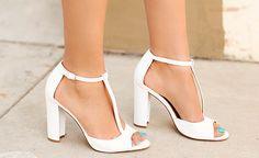 Como usar os sapatos branco