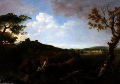 Les collines Alban, Italie de Richard Wilson