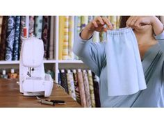 How to Sew an Elastic Waistband | Sewing Lessons - YouTube