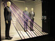 "Saks Fifth Avenue, New York,""The Shades of Purple"", pinned by Ton van der Veer"