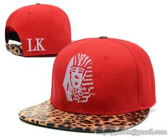 Last Kings Strapback Leaopard Red|only US$8.90,please follow me to pick up couopons.