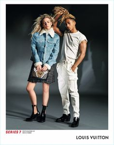 Riley Keough and Jaden Smith come together for Louis Vuitton's Series 7 fall-winter 2017 campaign.