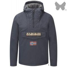 Napapijri Sale,Napapijri Mens Rainforest Winter 14 Jacket Navy