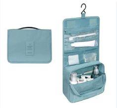 HHYUKIMI Brand Hanging Cosmetic Bag Beauty Makeup Bag Women Travel Portable Cosmetics Organizer Men Bath Waterproof Washbag
