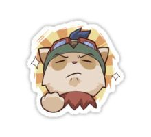 Teemo League of Legends Sticker