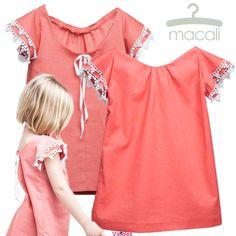 Vestido coral de Macali