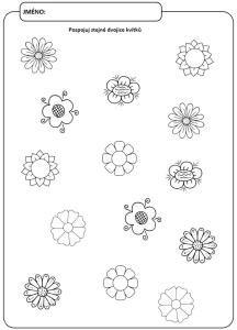 Spojování stejných květin