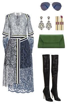Jewel Tones by kkaggraef on Polyvore featuring polyvore fashion style Preen Jimmy Choo Valextra Lanvin Victoria Beckham clothing