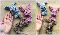 Easy Finger Knitting Bunny Free Knitting Pattern – Do it yourself Crochet Hood, Crochet Shoes Pattern, Knit Or Crochet, Free Crochet, Crochet Woman, Tunisian Crochet, Crochet African Flowers, Crochet Daisy, Diy Finger Knitting