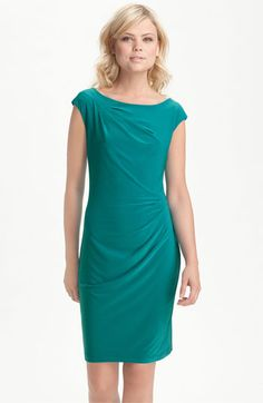 Nordstrom rack, $160, polyester, color is kinda green-ish.  Is this too casual for a bridesmaids dress?