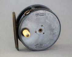 """Hardy Perfect Fly Reel 3 1/8"""" - 1896 check"""