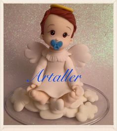 Batismo, festa comemoração, infantil, porcelana fria, anjo.