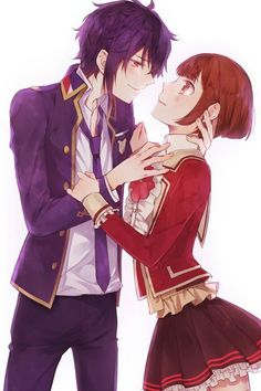 Ritsuka and Shiki  Dance with Devils
