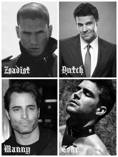 Black Dagger Brotherhood. My dream cast part 2.